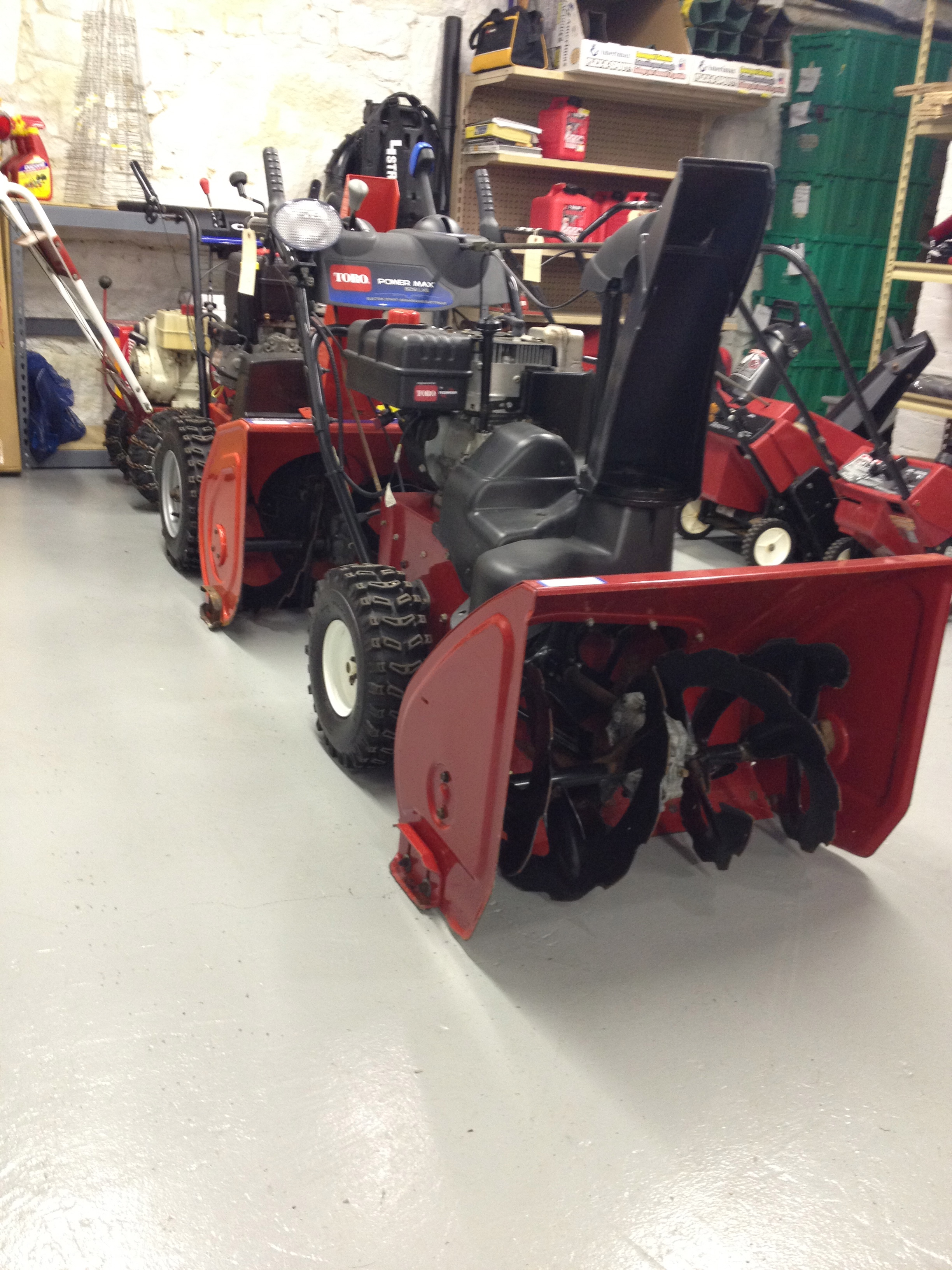 Used Or Preowned Snowblowers